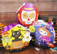 MDS-004 萬聖節南瓜袋兒童手工DIY手提糖果袋禮物袋